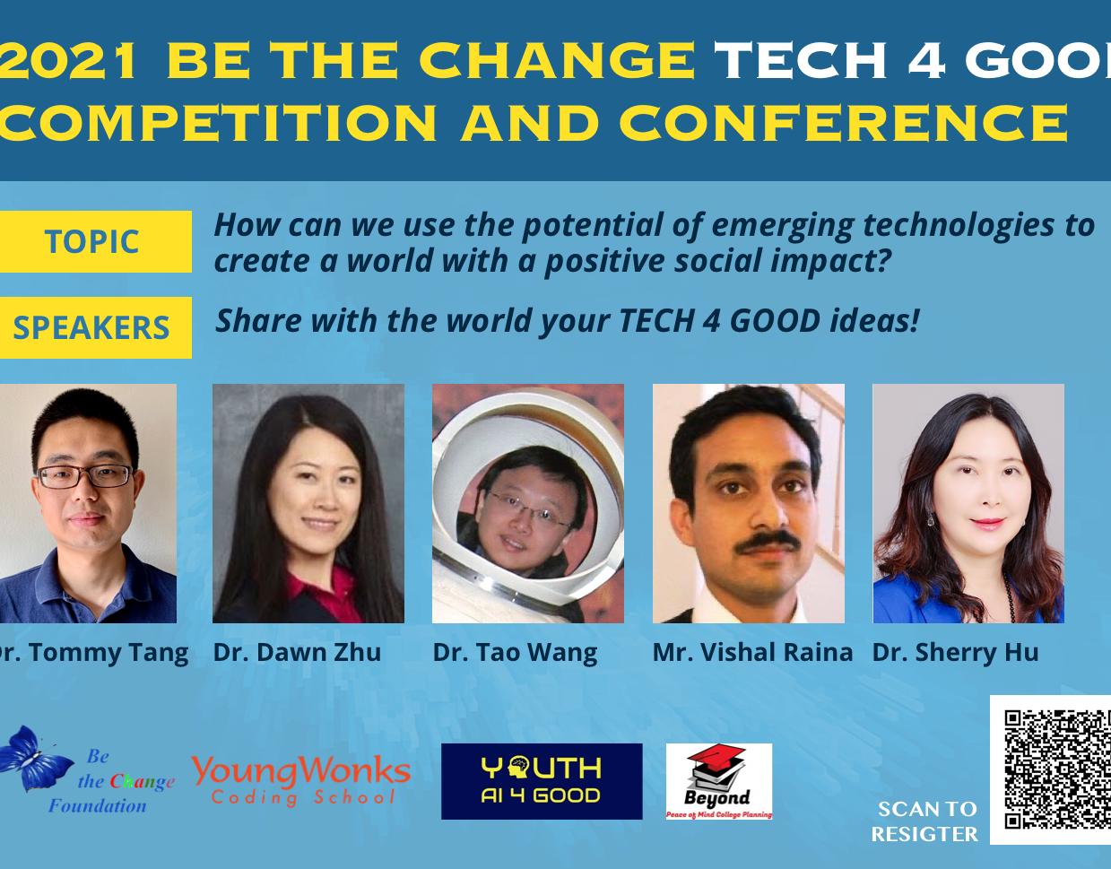 2021 BTC Tech 4 Good Conferences & Competitions
