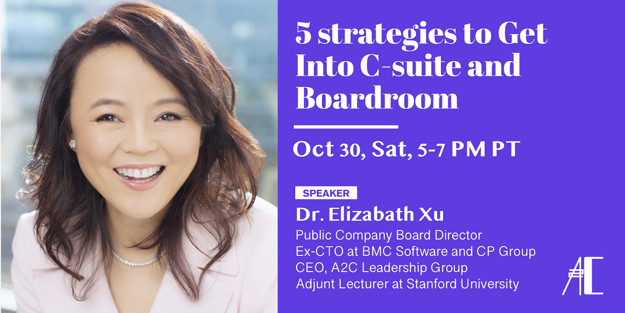 Five Strategies to Get Into C-suites and Boardrooms